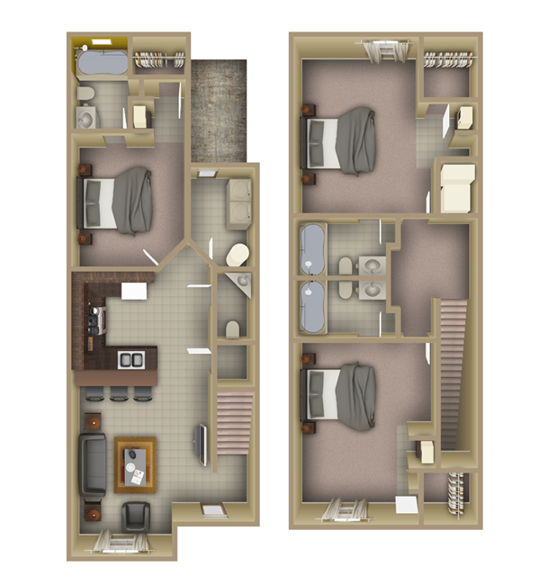 Fsu Apartments: Student Townhouses Near FSU